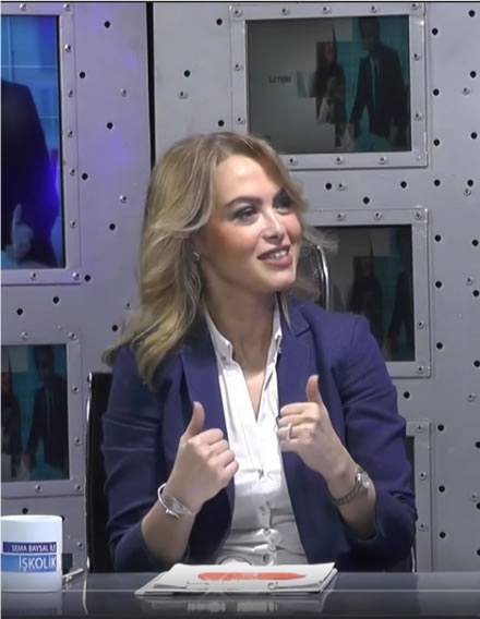 Our General Manager Serap Gunal on Business Turk Channel Iskolik programme with Sema Baysal