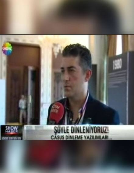Veri Kurtarma Hizmetleri on Show TV main news bulletin